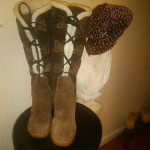 Micheal Kors Women's  Suede Boots